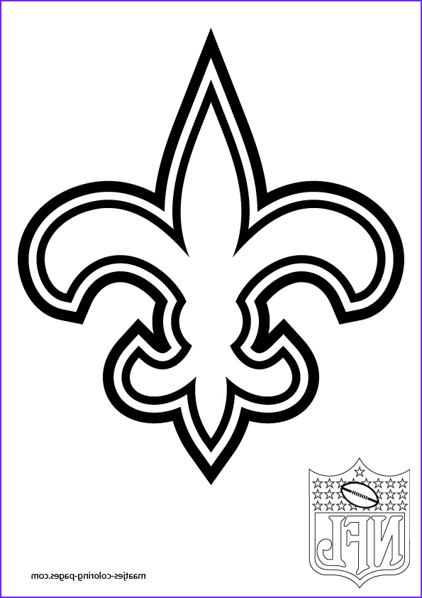 Saint Coloring Pages Awesome Photos Saints Football Coloring Pages
