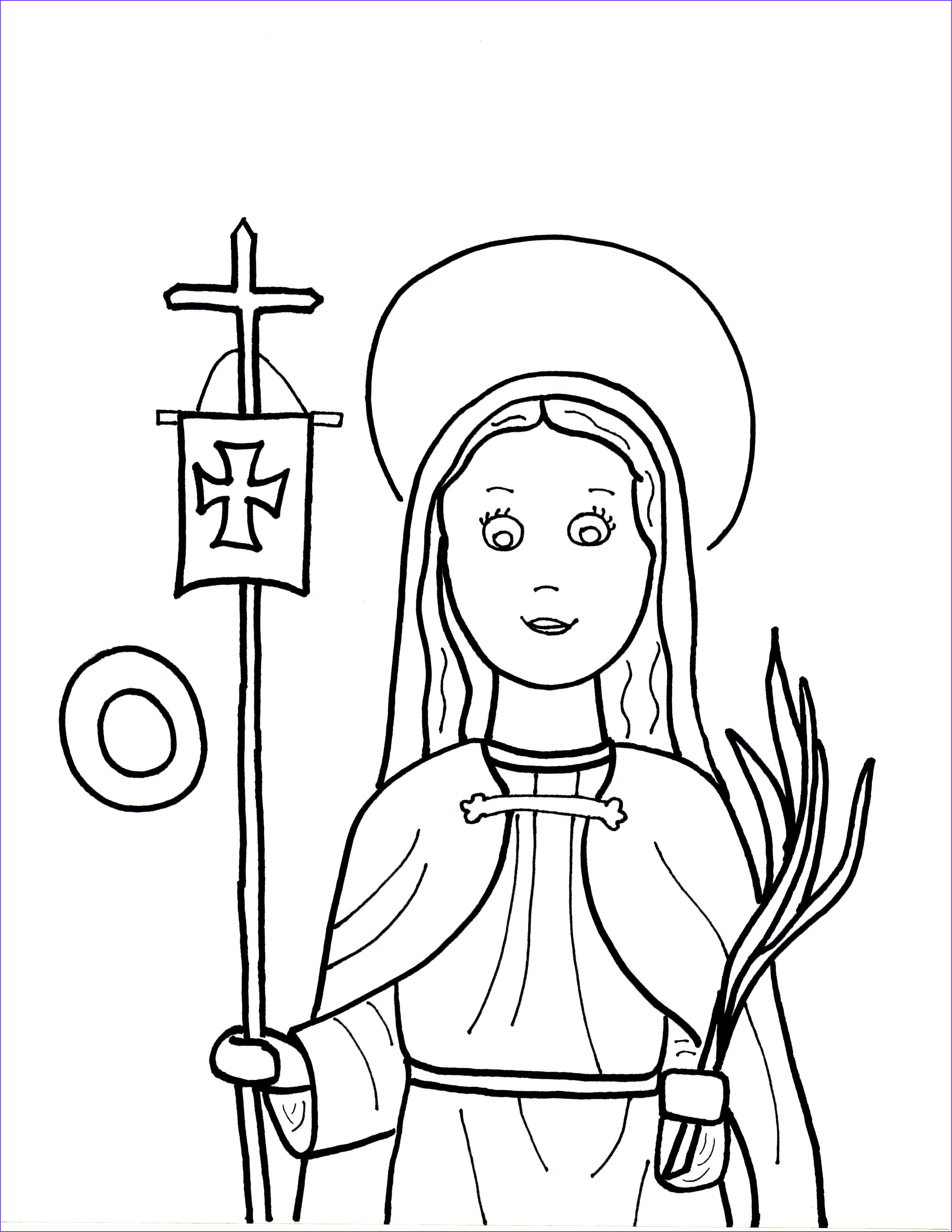 O is for St Odilia