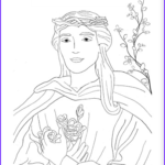Saint Coloring Pages Inspirational Image Saints Coloring Pages – Catholic Playground