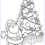 Santa Coloring Pages Inspirational Photos Printable Christmas Tree Coloring Pages For Kids
