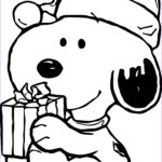 Snoopy Christmas Coloring Pages Cool Photos Baby Snoopy Christmas Coloring Page