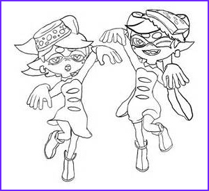 splatoon coloring pages