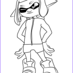 Splatoon Coloring Pages Beautiful Image Step By Step How To Draw Agent 4 From Splatoon 2