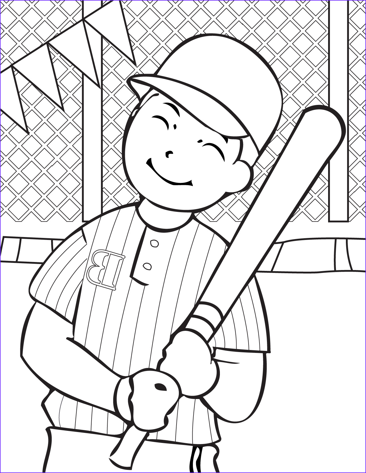 Sports Coloring Pages Cool Photos Free Printable Baseball Coloring Pages for Kids Best
