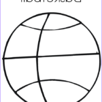 Sports Coloring Pages Unique Stock Basketball Coloring Page Twisty Noodle