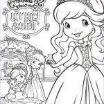 Strawberry Shortcake Coloring Pages Beautiful Images Strawberry Shortcake Berry Tales Coloring Page