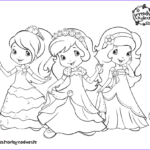 Strawberry Shortcake Coloring Pages Inspirational Stock Strawberry Shortcake Coloring Pages