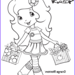 Strawberry Shortcake Coloring Pages New Photos 12 Strawberry Shortcake Birthday Party Printable Coloring