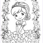 Strawberry Shortcake Coloring Pages New Stock Strawberry Shortcake Coloring Page