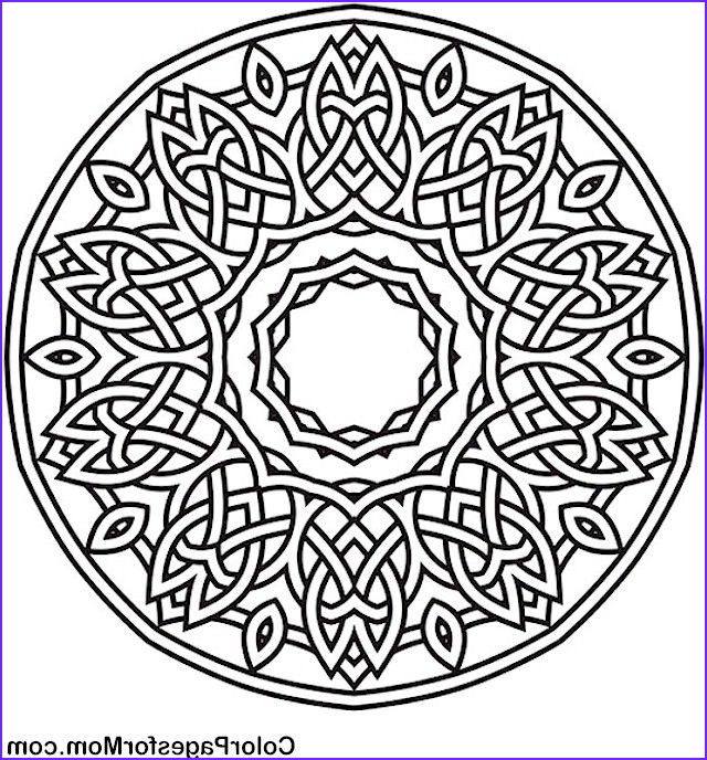Stress Relief Coloring Pages Best Of Photos Adult Mandala Coloring Page for Stress Relief