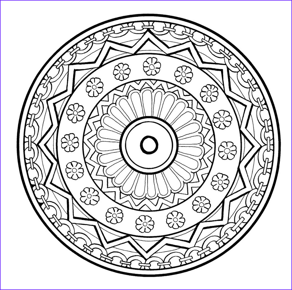 Stress Relief Coloring Pages New Stock these Printable Mandala and Abstract Coloring Pages