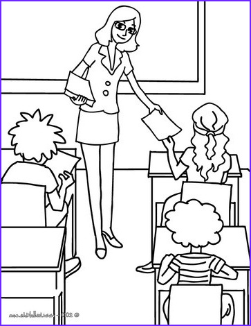 teacher distributing sheets to the pupils