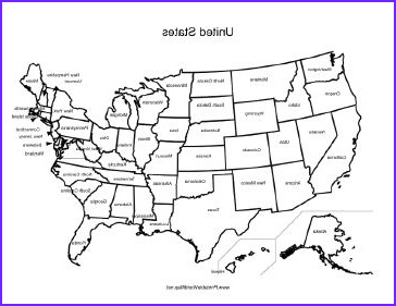 United States Coloring Map Luxury Photos A Printable Map Of the United States Of America Labeled