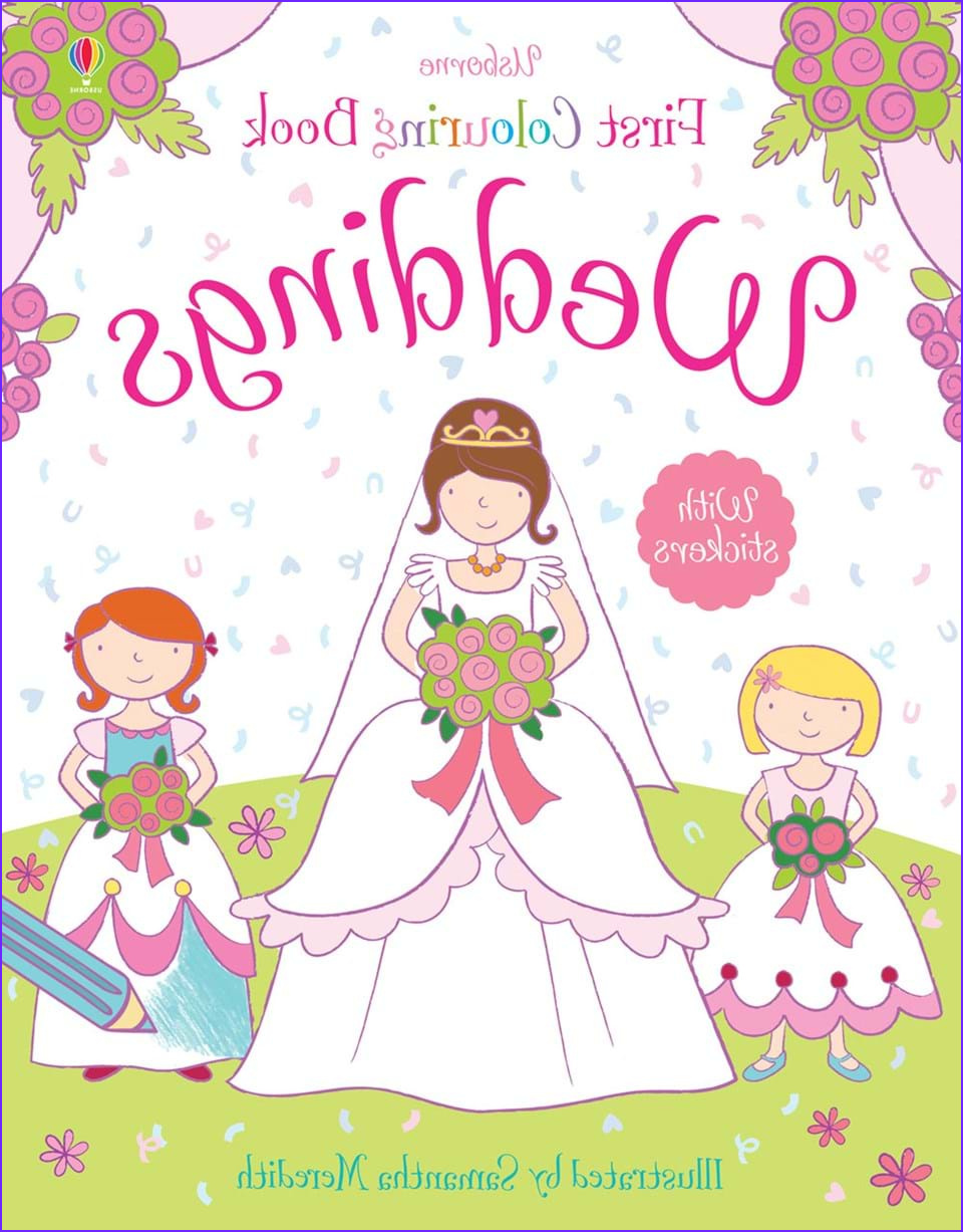 "Usborne Coloring Book New Images ""weddings Colouring Book"" at Usborne Children's Books"