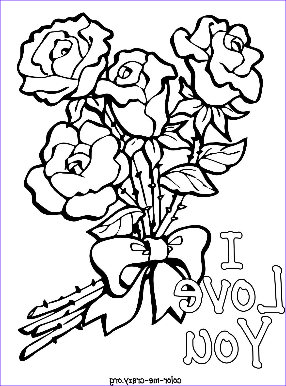 12 New Valentines Coloring Pictures Stock