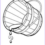 Water Coloring Picture Inspirational Photos Bucket Spilling Water Coloring Pages Bucket Spilling