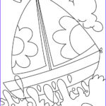 Water Coloring Picture Inspirational Stock A Boat In Deep Water Coloring Page