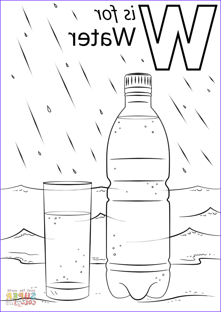 letter w is for water
