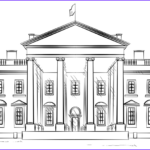 Whitehouse Coloring Luxury Images White House Coloring Page