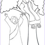 Zacchaeus Coloring Page Awesome Photos Zaccheus Coloring Pages Coloring Home