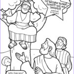 Zacchaeus Coloring Page Luxury Gallery Zacchaeus Cut Out Coloring Coloring Pages