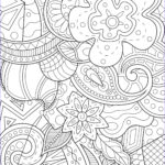 Zen Coloring Book Beautiful Photography Whimsical Background Anti Stress Adult Coloring Pages