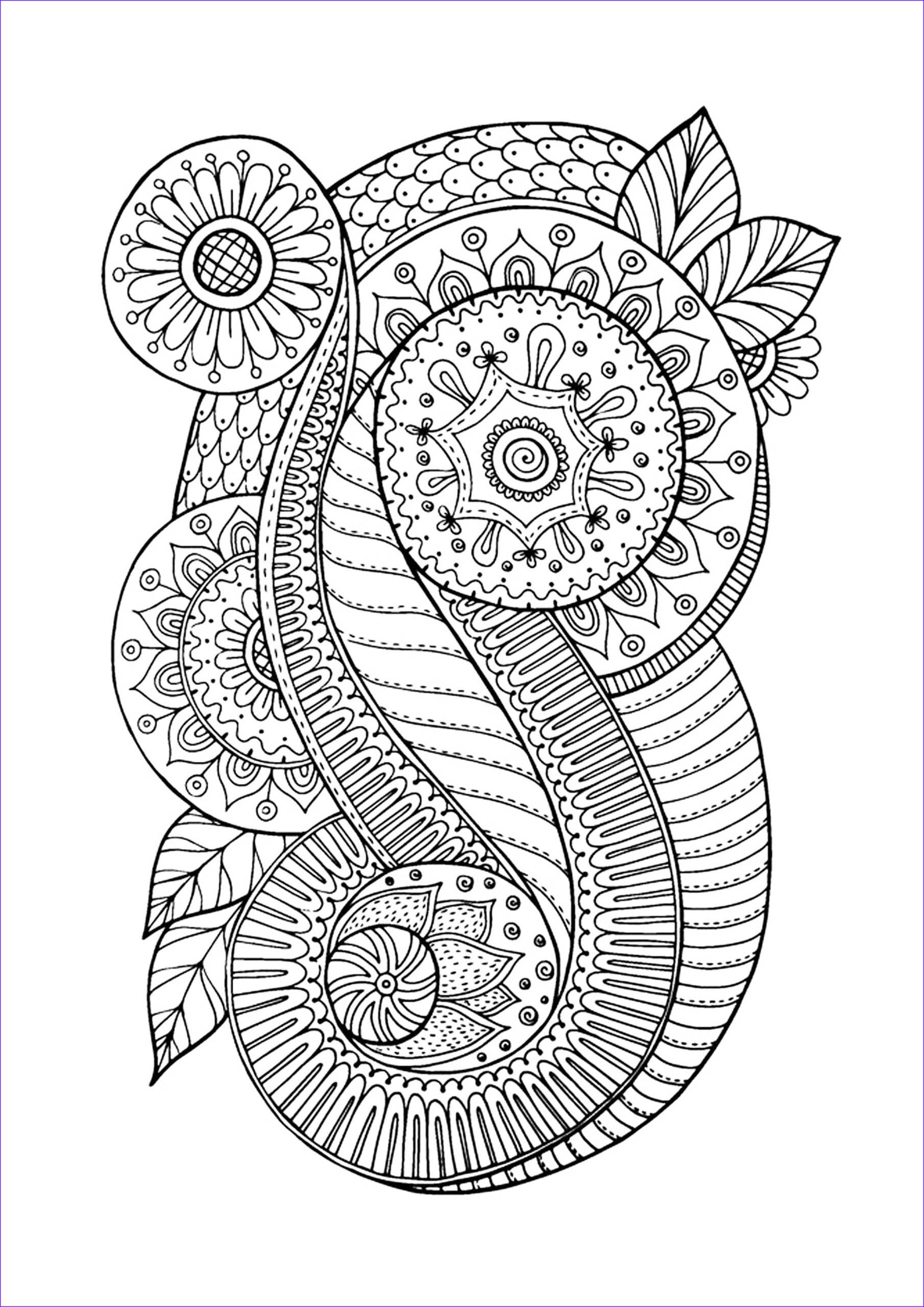 Zen Coloring Books New Photos Zen Antistress Abstract Pattern Inspired Anti Stress