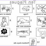 10 Plagues Of Egypt Coloring Pages Awesome Gallery Printable Moses Coloring Pages For Kids