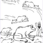 10 Plagues Of Egypt Coloring Pages Beautiful Image The 10 Plagues Of Egypt Frog Lesson