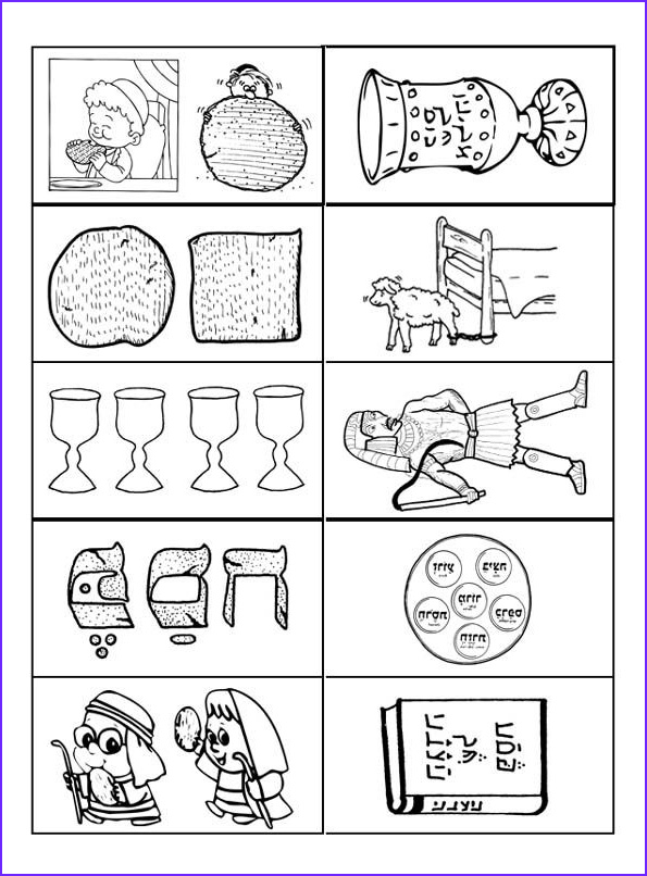 10 Plagues Of Egypt Coloring Pages Beautiful Images Lunchbox Matching Game for Pesach