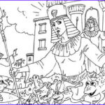 10 Plagues Of Egypt Coloring Pages Best Of Photos 10 Plagues Of Egypt Frogs Invade Egypt In 10 Plagues Of