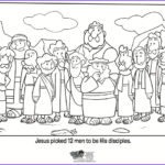 12 Disciples Coloring Page Inspirational Image 12 Disciples Coloring Page