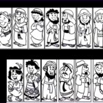 """12 Disciples Coloring Page New Stock The Classroom Game Nook Diy """"guess Who"""" Game"""