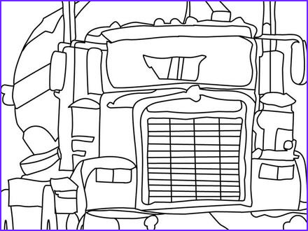 big rig truck coloring pages free 18 wheeler boys cf7eaacd3b