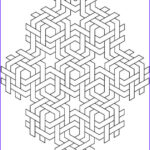 3d Coloring Pages Inspirational Photos Wel E To Dover Publications 3d Geometric Designs By