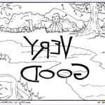 7 Days Of Creation Coloring Pages Free Best Of Gallery 7 Days Creation Coloring Pages Download
