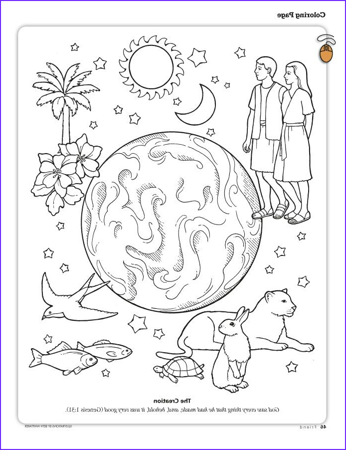 7 Days Of Creation Coloring Pages Free Best Of Gallery Printable Coloring Pages From the Friend A Link to the Lds