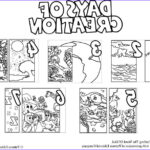 7 Days Of Creation Coloring Pages Free Cool Gallery Days Creation Coloring Pages Crafting The Word God