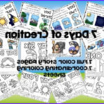 7 Days Of Creation Coloring Pages Free Inspirational Photos 7 Days Of Creation Story Boards And Coloring Sheets By