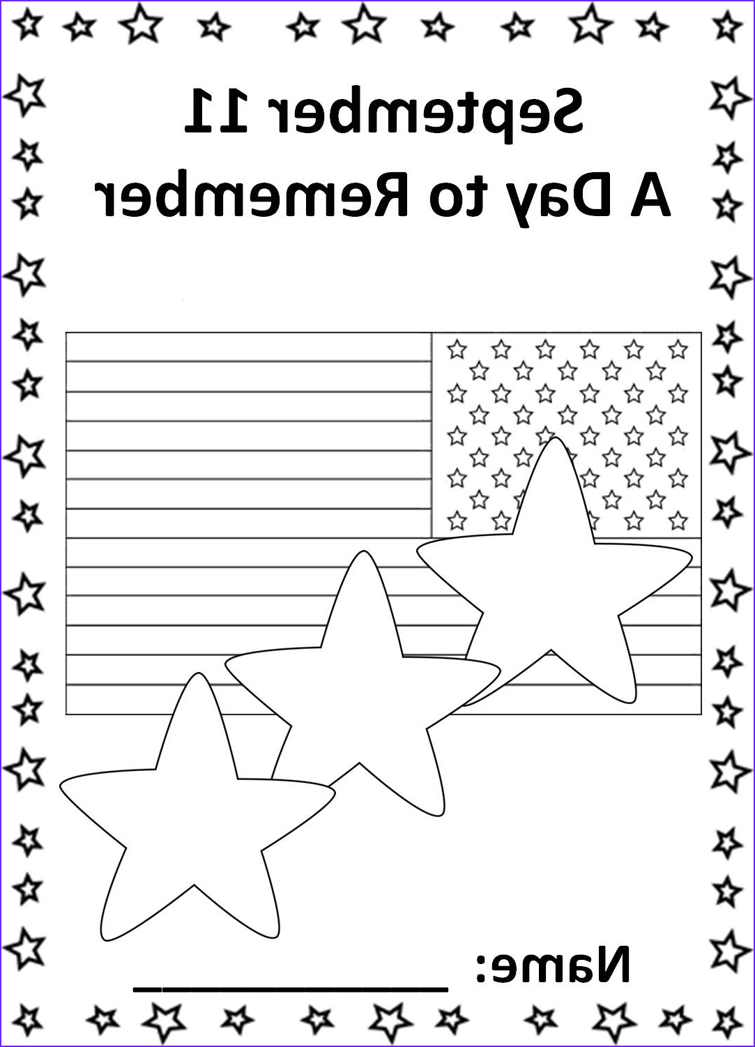9 11 coloring pages patriots day