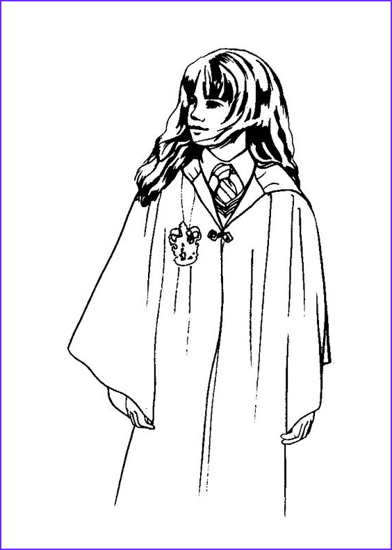 999 Coloring Pages Best Of Photos Hermione Granger Harry Potter 1 – 999 Coloring Pages