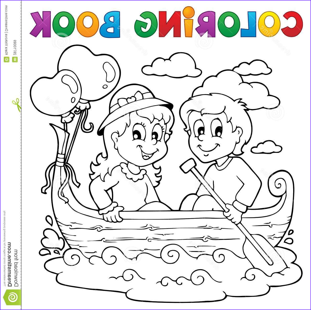 royalty free stock images coloring book love theme image 1 image