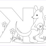 Abc Coloring Pages Unique Collection Letter K Coloring Pages To And Print For Free