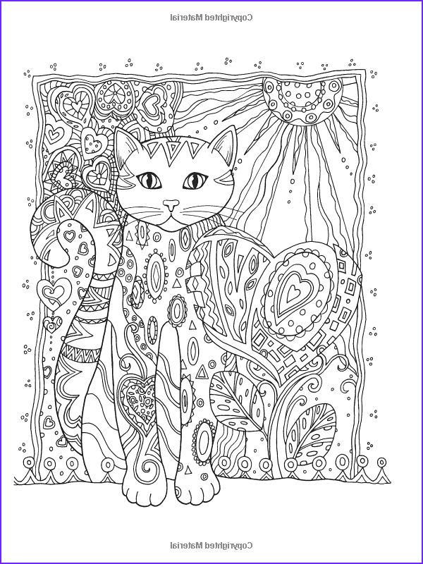 Adult Cat Coloring Pages Best Of Collection Creative Haven Creative Cats Coloring Book Creative Haven
