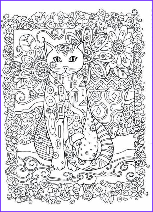 Adult Cat Coloring Pages Cool Photography Creative Cats Adult Colouring Book I Marjorie Sarnat
