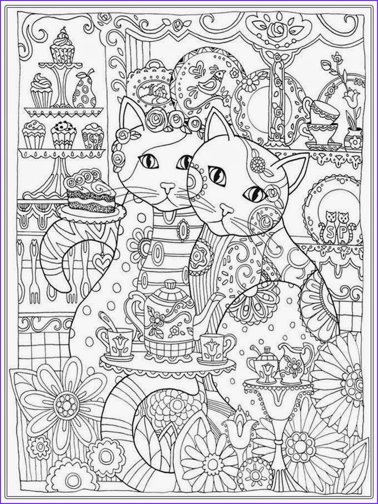 Adult Cat Coloring Pages Cool Photos Cat Coloring Pages for Adult