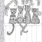 Adult Cat Coloring Pages Inspirational Image Free Adult Coloring Pages Happiness is Homemade
