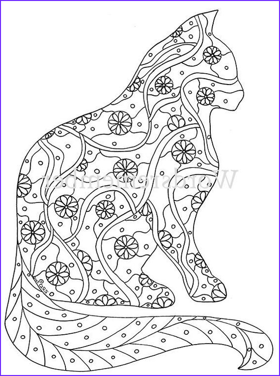 Adult Cat Coloring Pages New Photos Cat Coloring Page Coloring Pages Adult Coloring by
