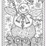 Adult Christmas Coloring Pages Elegant Photos Snow Angel Instant Christmas Coloring Page Holidays