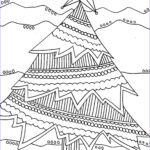 Adult Christmas Coloring Pages Unique Images Free Printable Adult Coloring Pages